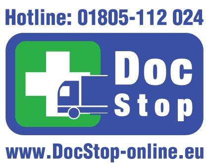 DocStop, die medizinische Unterwegsversorgung für Berufskraftfahrerinnen und -fahrer.